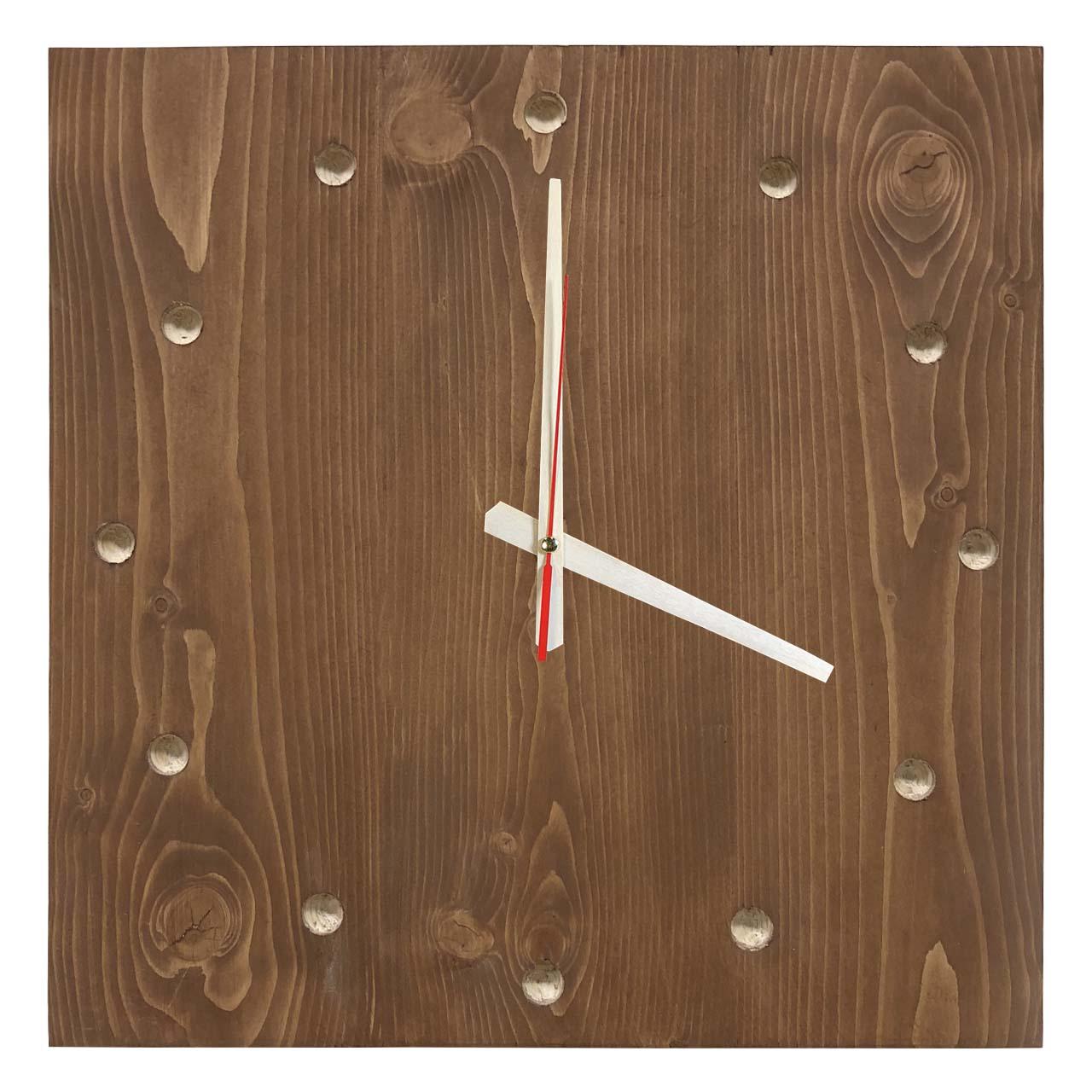 ساعت دیواری چوبی مدل Sssimple 116
