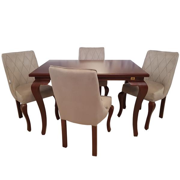 میز و صندلی ناهار خوری چوبکو مدل 120