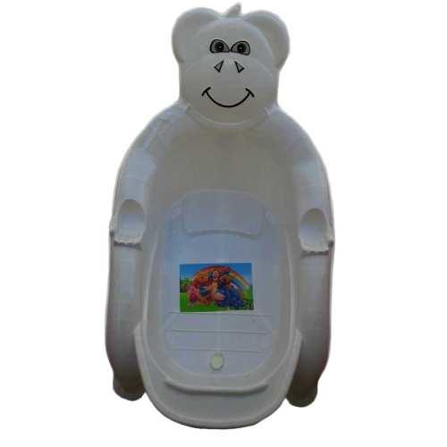 ست 4 تکه حمام کودک حمام کودک طرح خرس کد 11