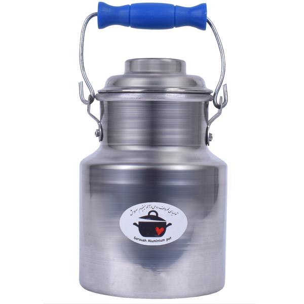 ظرف نگهدارنده تولیدی سروش مدل DP1K ساده ظرفیت 1 کیلوگرم