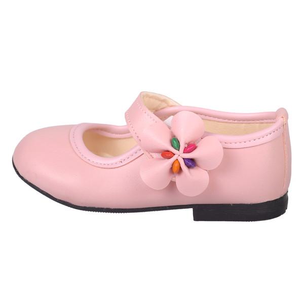 کفش دخترانه نگار مدل 3585 صورتی