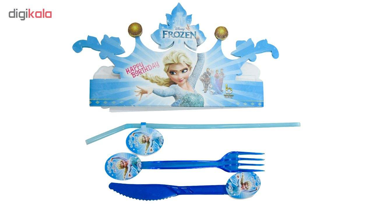 مجموعه 90 عددی تم تولد مدل Frozen main 1 3