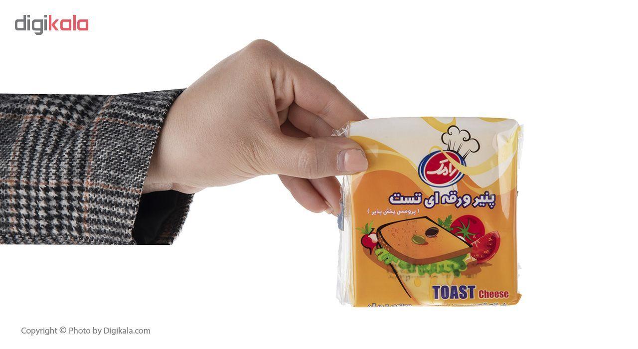پنیر ورقه ای تست رامک مقدار 180 گرم main 1 4