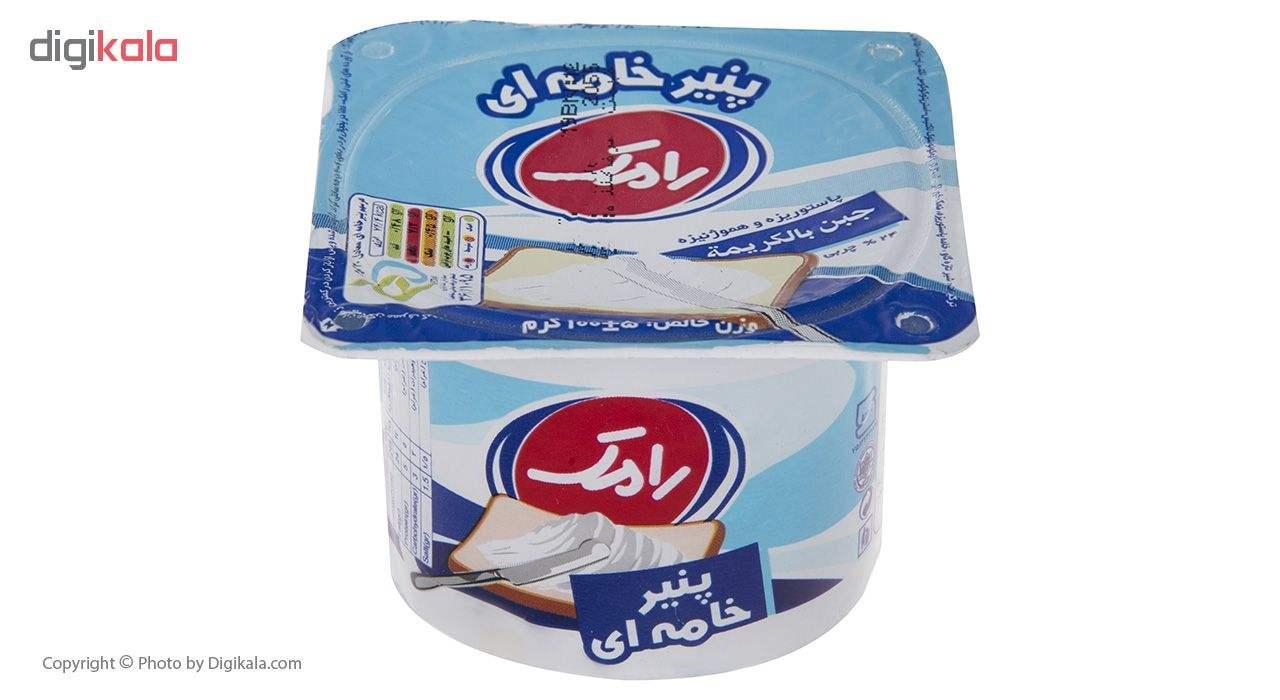 پنیر خامه ای رامک وزن 100 گرم main 1 1