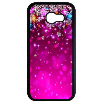 کاور طرح برف بنفش کد 8753 مناسب برای گوشی موبایل سامسونگ galaxy j7 prime