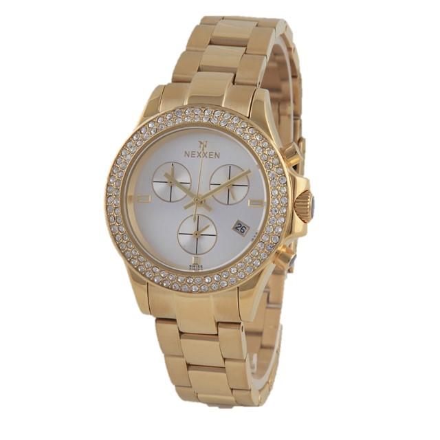 خرید ساعت مچی عقربه ای زنانه نکسن مدل N3195L1