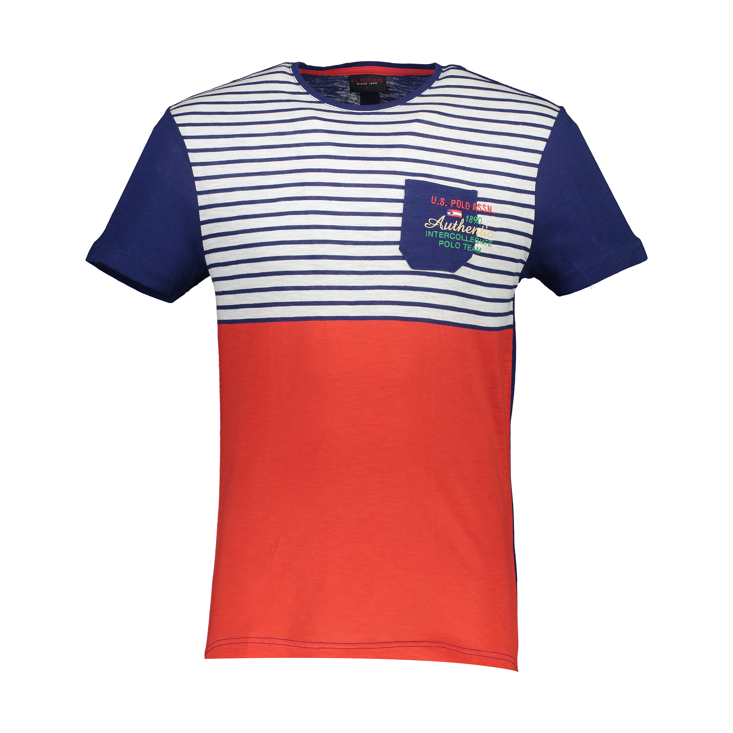 تی شرت آستین کوتاه مردانه یو اس پولو مدل 081100