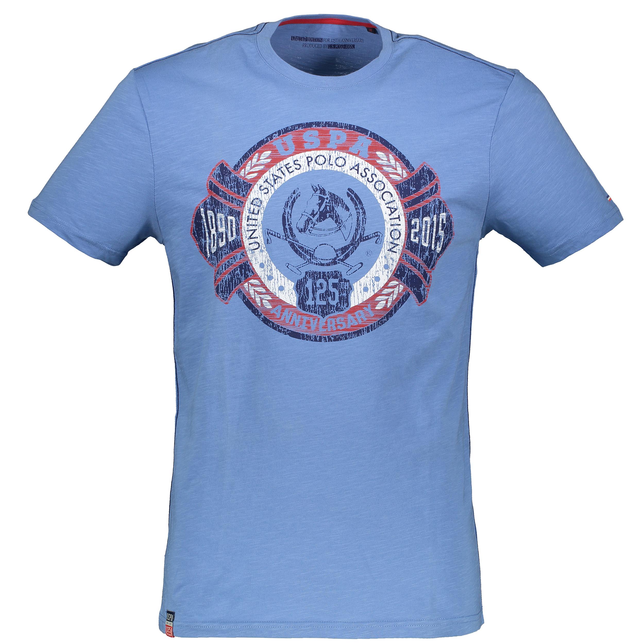 تی شرت آستین کوتاه مردانه یو اس پولو مدل 081106