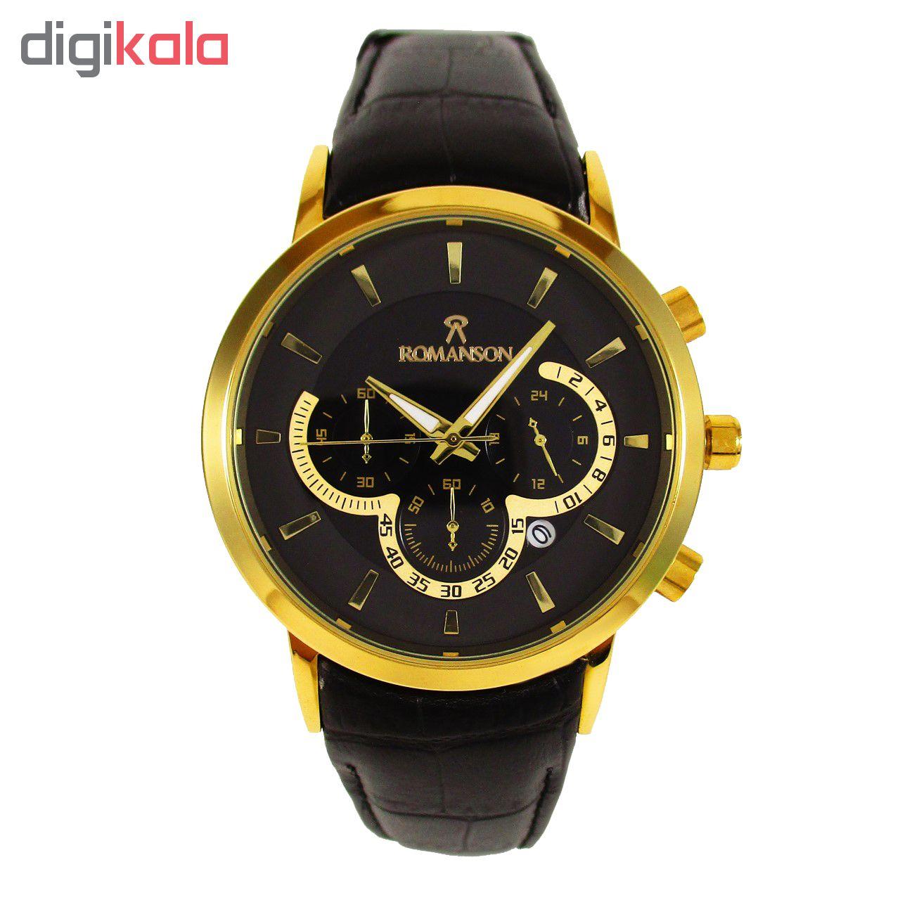 خرید ساعت مچی عقربه ای مردانه مدل  ROM 01 | ساعت مچی