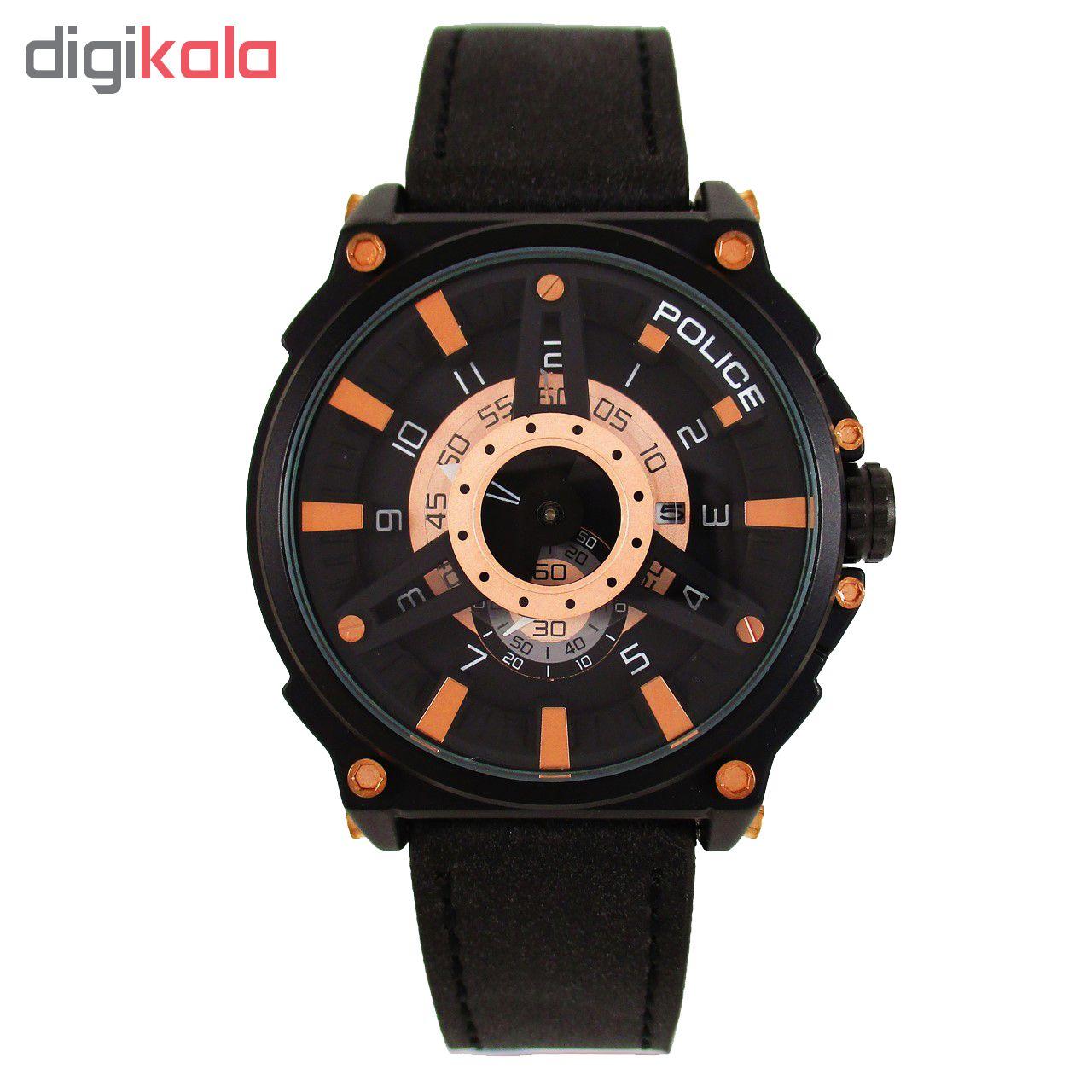 خرید ساعت مچی عقربه ای مردانه مدل POL 01