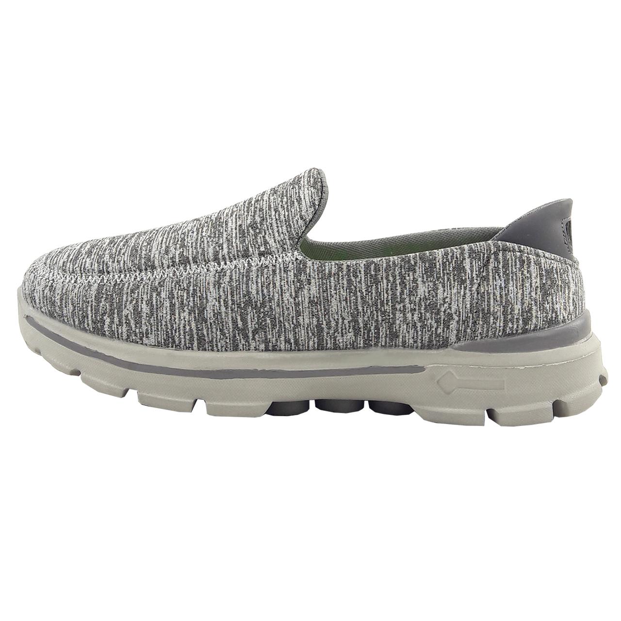 کفش مخصوص پیاده روی مردانه مدل World blue.comfort gry01