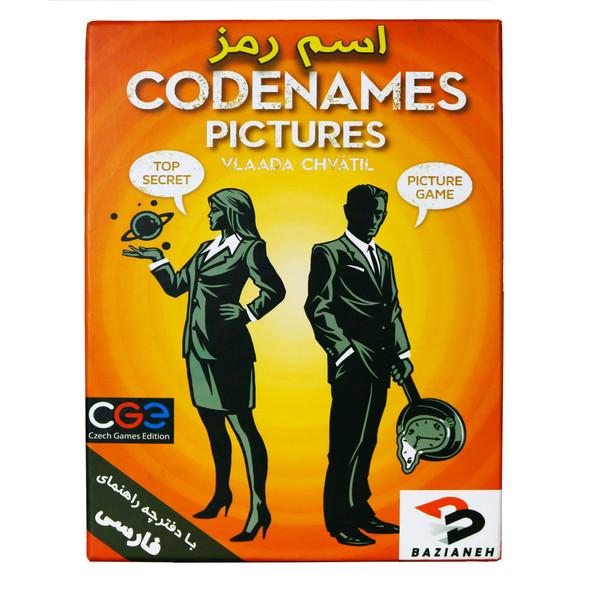 بازی فکری سی جی ای مدل اسم رمز