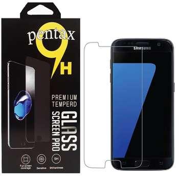 محافظ صفحه نمايش پنتاکس مدل STARK مناسب براي گوشي موبایل سامسونگ GALAXY S7 FLAT