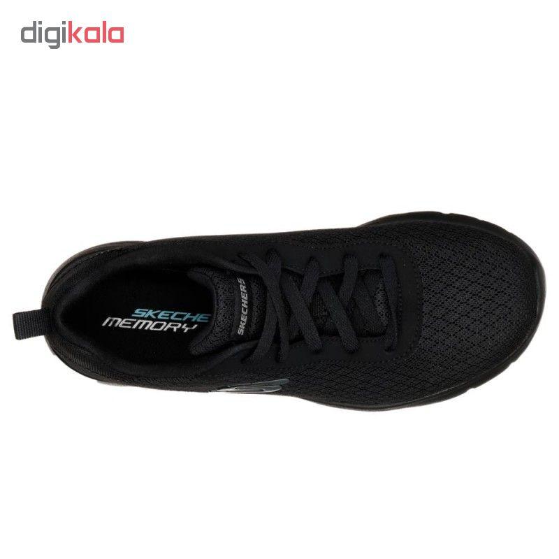 کفش مخصوص پیاده روی زنانه  اسکچرز مدل MIRACLE 12964BBK