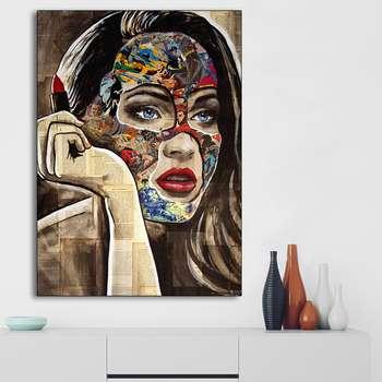 تابلو شاسی گالری استاربوی طرح دختر مدل 266
