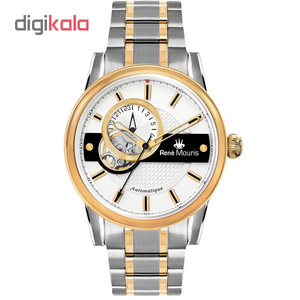 خرید ساعت عقربه ای مردانه رنه موریس مدل Orion 70102 RM4