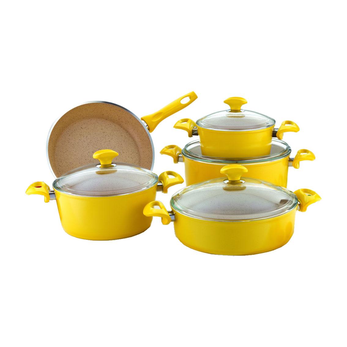 سرویس پخت و پز 9 پارچه فالز مدل شکر