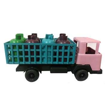 ماشین بازی طرح کامیون حمل گاز