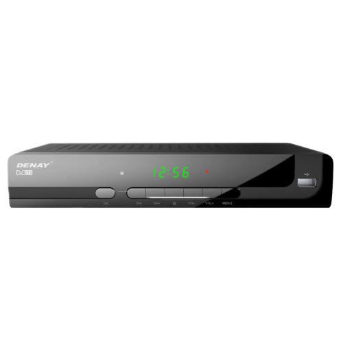 گیرنده تلویزیون دیجیتال دنای مدل DVB-T STB954T2 به همراه آنتن رومیزی پروویژن DVB-T601