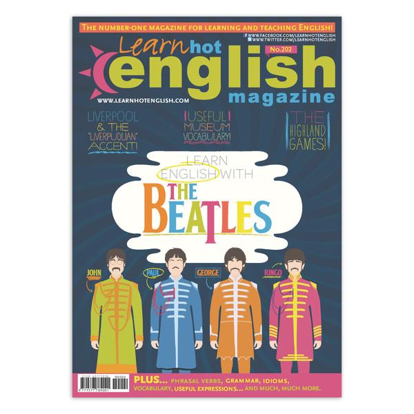 مجله Learn Hot English شماره 202 مارچ 2019