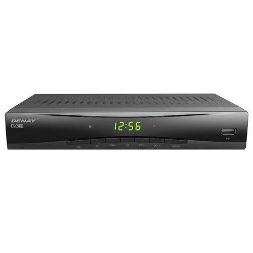 گیرنده تلویزیون دیجیتال دنای مدل DVB-T STB953T2 به همراه آنتن رومیزی پروویژن DVB-T601