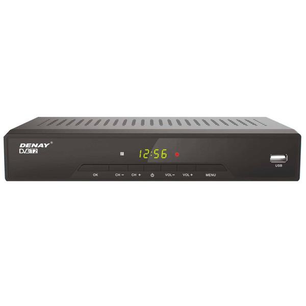 گیرنده تلویزیون دیجیتال دنای مدل DVB-T STB952T2 به همراه آنتن رومیزی پروویژن DVB-T601