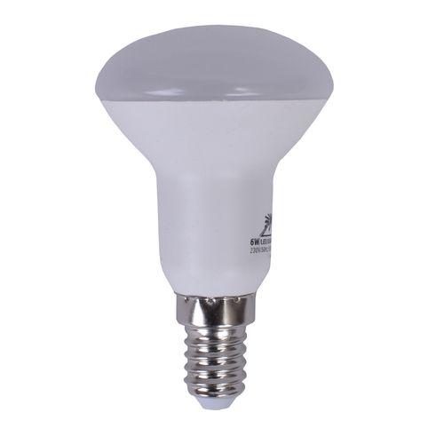 لامپ ال ای دی 6 وات روشنایی نوین برتر مدل R50 پایه E14