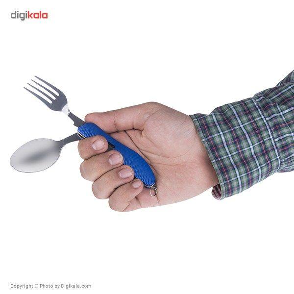 ست قاشق، چنگال و چاقوی سفری طرح 1 main 1 12