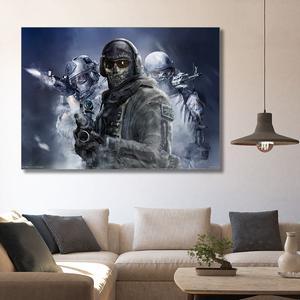 تابلو شاسی گالری استاربوی طرح بازی Call of Duty مدل بازی کامپیوتری 1