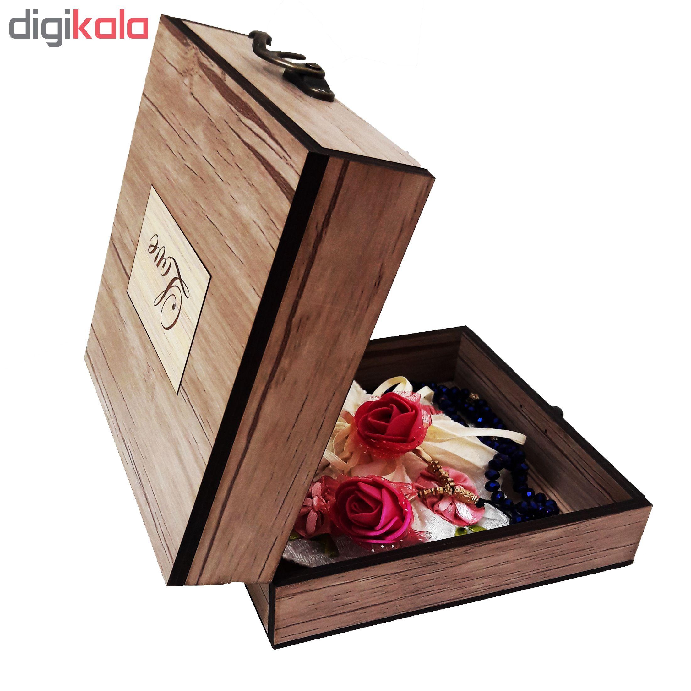 خرید                      جعبه هدیه چوبی کادویی آیهان باکس مدل 66