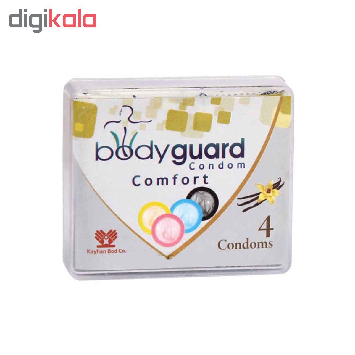 کاندوم کاپوت مدل 7Hot Time بسته 12 عددی به همراه کاندوم بادیگارد مدل Comfort بسته 4 عددی