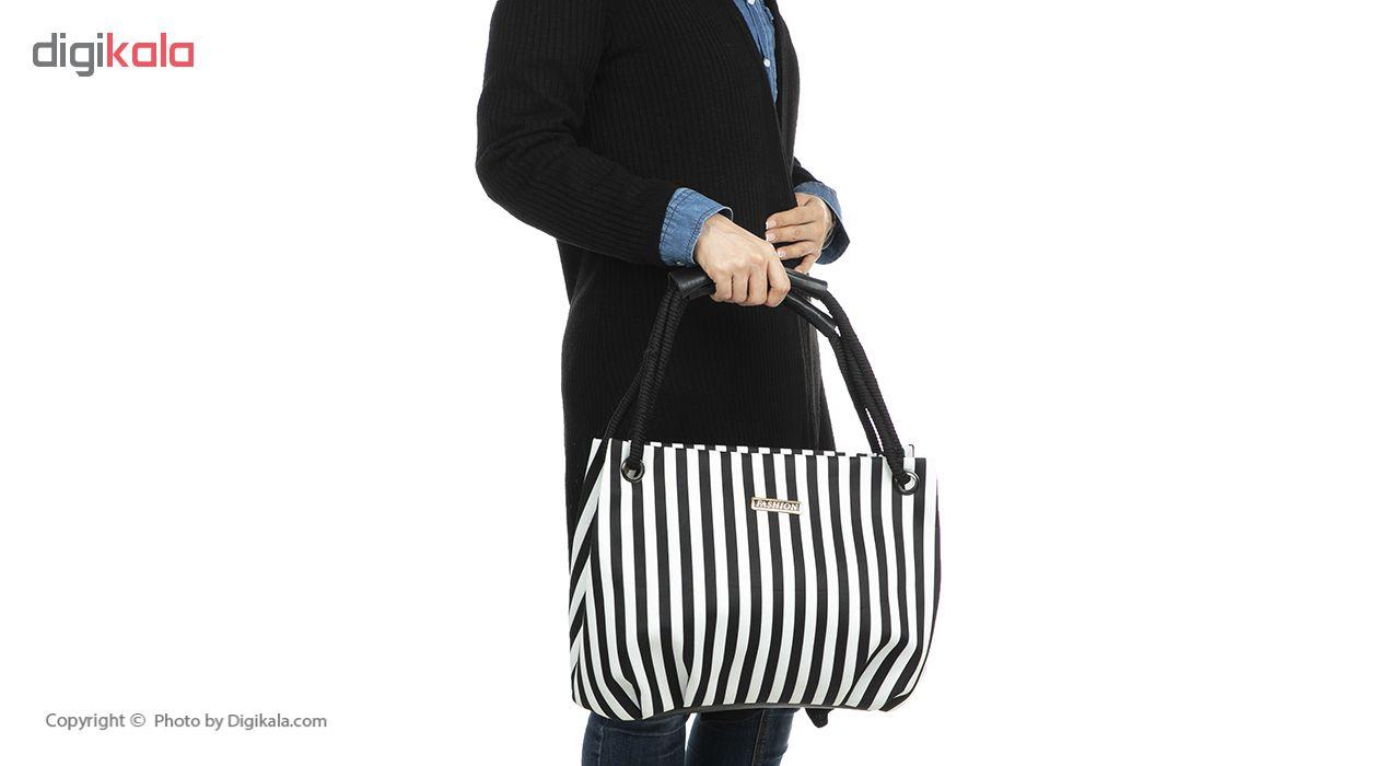 کیف دوشی زنانه مدل لاین