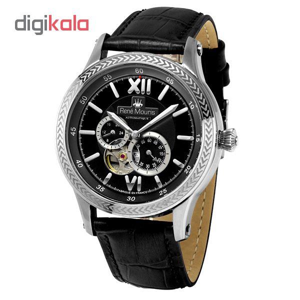 خرید ساعت مچی عقربه ای مردانه رنه موریس مدل Corona 70105 RM2