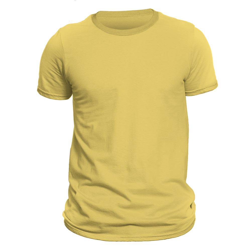 تیشرت آستین کوتاه مردانه دی سی کد DC-1GYL رنگ زرد لیمویی