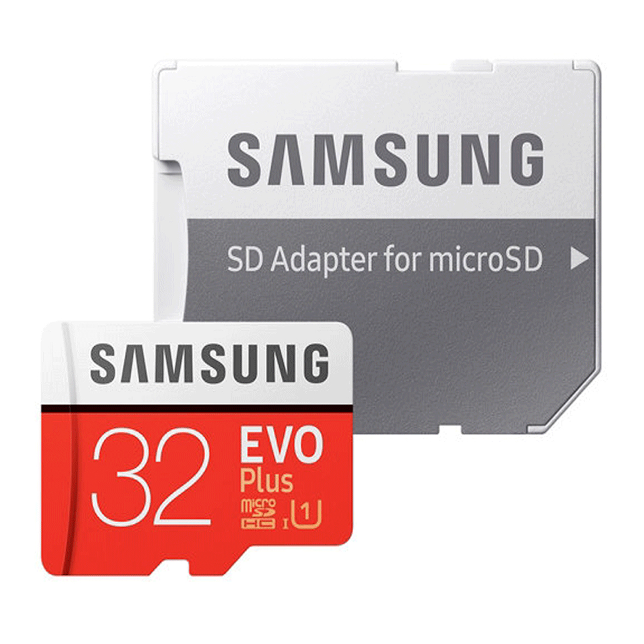 کارت حافظه microSDHC مدل Evo Plus کلاس 10 استاندارد UHS-I U1 سرعت 80MBps ظرفیت 32 گیگابایت به همراه آداپتور SD