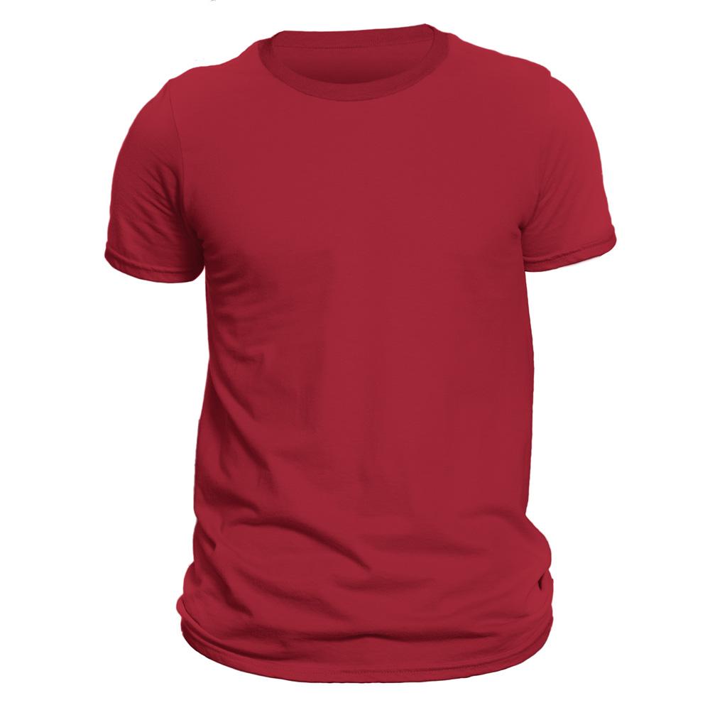 تیشرت آستین کوتاه مردانه فروشگاه دی سی کد DC-1SRD رنگ قرمز