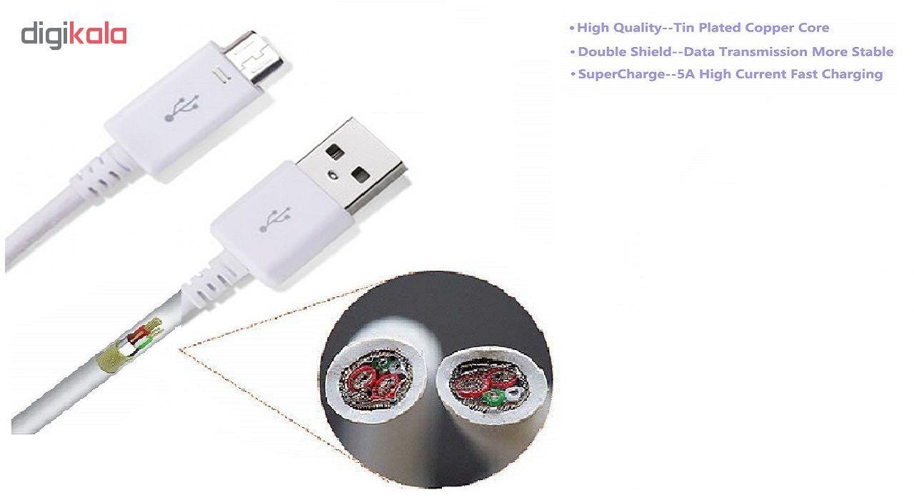کابل  تبدیل USB به microUSB مدل SM-PS طول 1 متر main 1 4