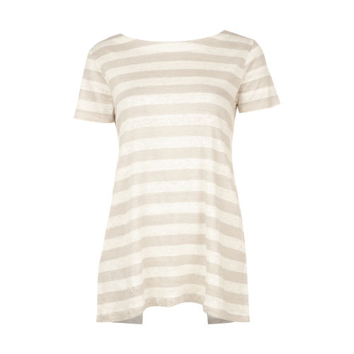 تی شرت نخی یقه گرد زنانه - استفانل