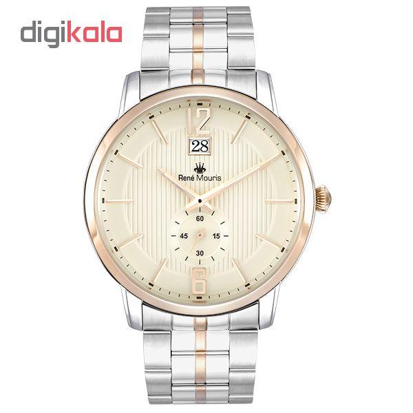 ساعت مچی عقربه ای مردانه رنه موریس مدل Executive 80102 RM4