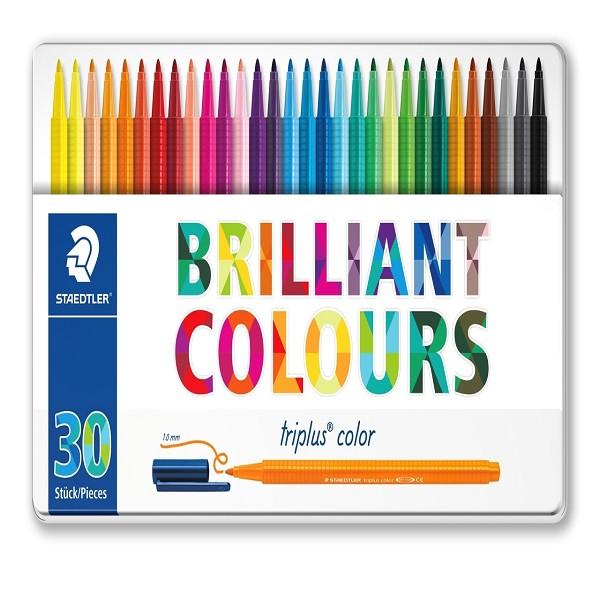 ماژیک 30 رنگ استدلر مدل triplus کد 323m30