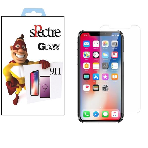 محافظ صفحه نمایش اسپکتر مدل 9H مناسب برای گوشی موبایل اپل آیفون x