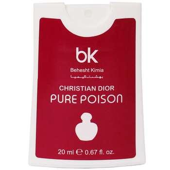 عطر جیبی زنانه بی کی مدل Pure Poison حجم 20 میلی لیتر