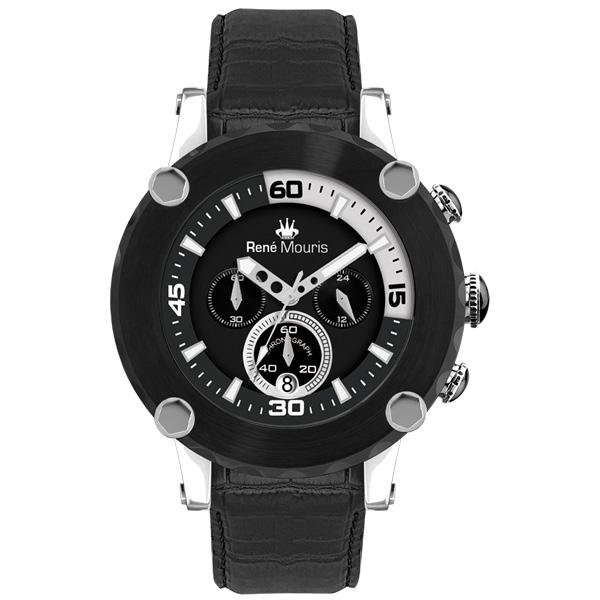 ساعت مچی عقربه ای مردانه رنه موریس مدل Santa Maria 90101 RM2 8