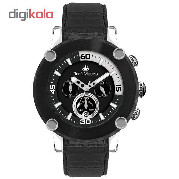 ساعت مچی عقربه ای مردانه رنه موریس مدل Santa Maria 90101 RM2