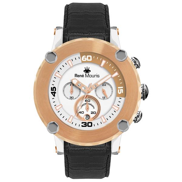 کد تخفیف                                      ساعت مچی عقربه ای مردانه رنه موریس مدل Santa Maria 90101 RM4