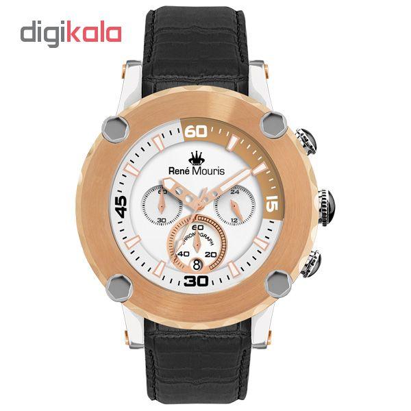 خرید ساعت مچی عقربه ای مردانه رنه موریس مدل Santa Maria 90101 RM4