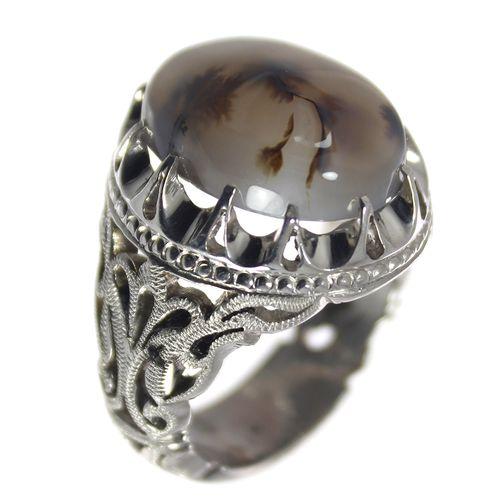 انگشتر نقره مردانه مدل 1174