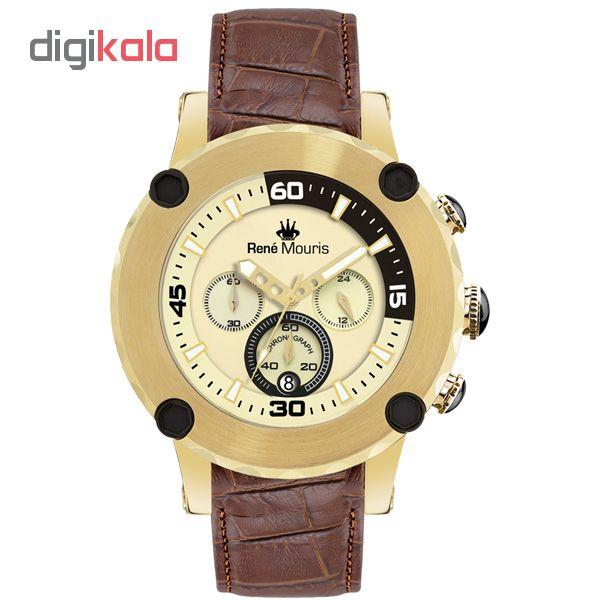 خرید ساعت مچی عقربه ای مردانه رنه موریس مدل Santa Maria 90101 RM7