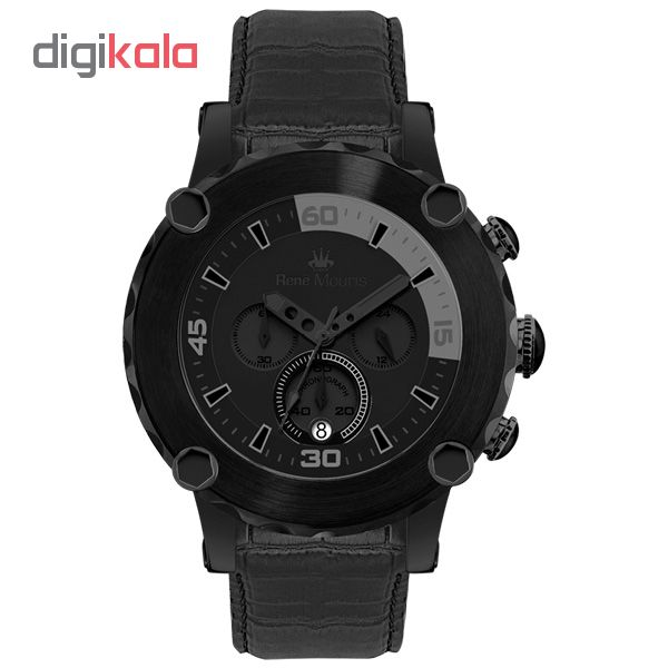 خرید ساعت مچی عقربه ای مردانه رنه موریس مدل Santa Maria 90101 RM11