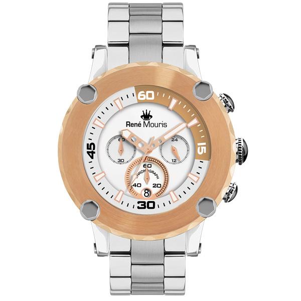 کد تخفیف                                      ساعت مچی عقربه ای مردانه رنه موریس مدل Santa Maria 90102 RM4